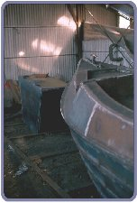 Bow with water tank