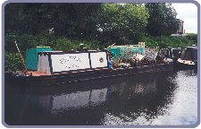 Phoenix full of rubbish pulled from the canal: Just what she was designed for