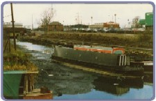 1988 at Oldbury Alens Yard when canal breached